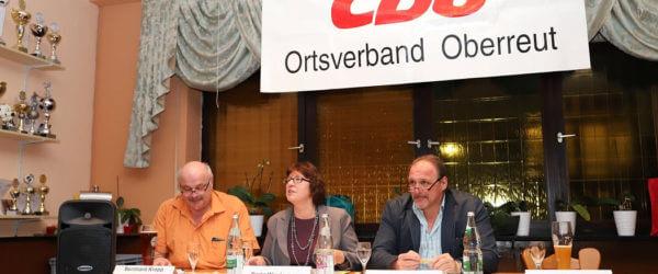 Karin Wiedemann und Detlef Hofmann in Oberreut