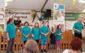 Sommerfest in Oberreut