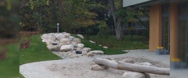 Neuer Kindergarten und kein Spielplatz?