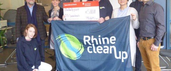 RhineCleanUp: Mehr als Dreck-weg am Wasser