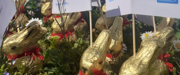 Das Quartiersmanagement in Oberreut schickt süße Grüße zum Osterfest